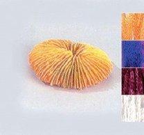 Dekorační korál S 100mm žlutý