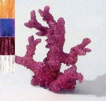 Akvarijní dekorace koral XL 230mm fial