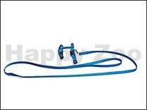 Postroj s vodítkem pro hlodavce FASH -modrý