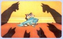 Podložka+kočka+stíny+