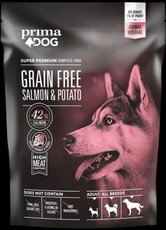 Prima Dog 1,5kg adult bez obilovin losos