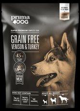 Prima Dog 1,5kg adult bez obilovin zvěřina
