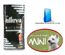 ALLEVA PLUS LAMB&RICE MINI 1,5KG