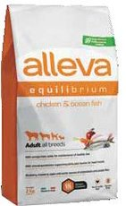 Alleva Equilibrium All day maintenance adult kuře+mořské ryby 2kg