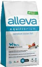 Alleva Equilibrium sensitive puppy all breeds mořské ryby 2kg