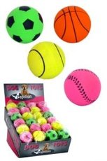 Gum.neonové míčky 6cm