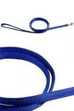 Nylonové vodítko reflexní 1,5cm x 120cm-modré