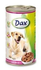 Dax pro psy telecí kousky 1240g