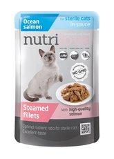 Nutrilove kočka kapsička STERILE šťáva losos 85g