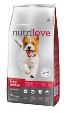 Nutrilove pes granule ADULT S fresh kuře 1,6kg