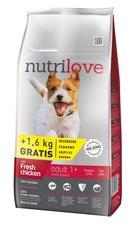 Nutrilove pes granule ADULT S fresh kuře 8kg