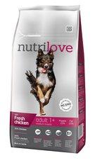 Nutrilove pes granule ADULT M fresh kuře 1,6kg