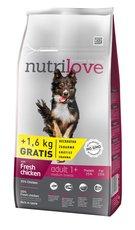 Nutrilove pes granule ADULT M fresh kuře 8kg