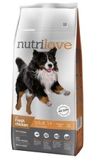 Nutrilove pes granule ADULT L fresh kuře 12kg