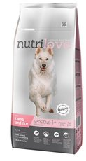 Nutrilove pes granule SENSITIVE fresh jehně a rýže 12kg