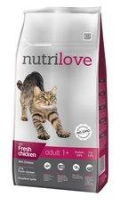 Nutrilove kočka granule ADULT fresh kuře 1,5kg