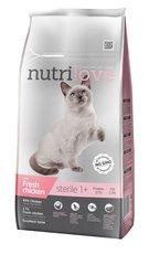 Nutrilove kočka granule STERILE fresh kuře 1,4kg