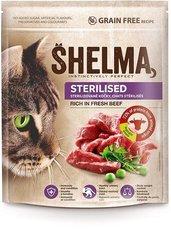 SHELMA gran.kočka 750g steril.hov.