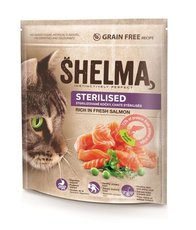 SHELMA gran.kočka 750g steril.losos