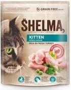 SHELMA gran.kočka KITTEN 750g krůtí