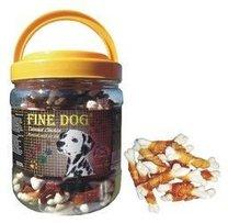 RA FINE DOG TWINNED CHICKEN 600G